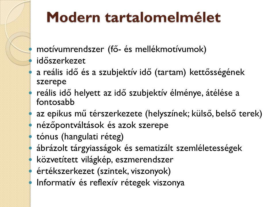 Modern tartalomelmélet