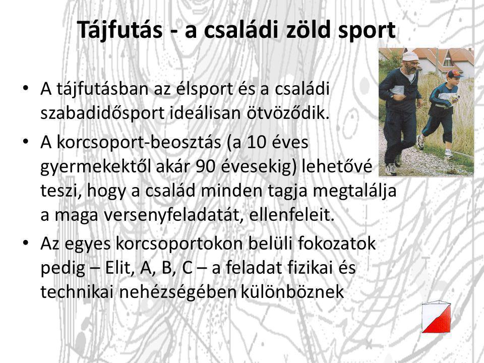 Tájfutás - a családi zöld sport