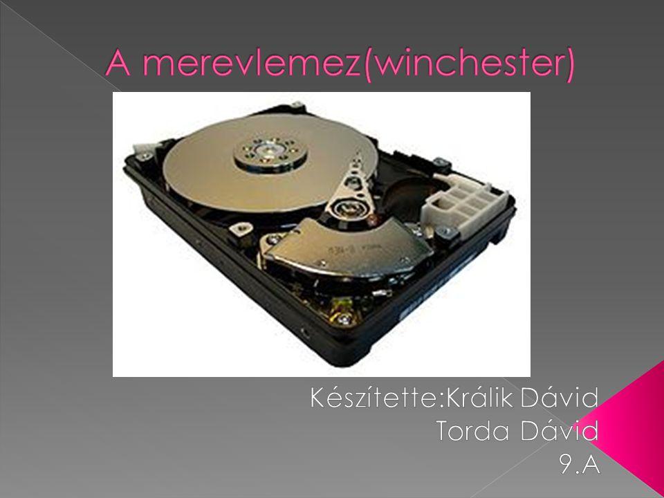 A merevlemez(winchester)