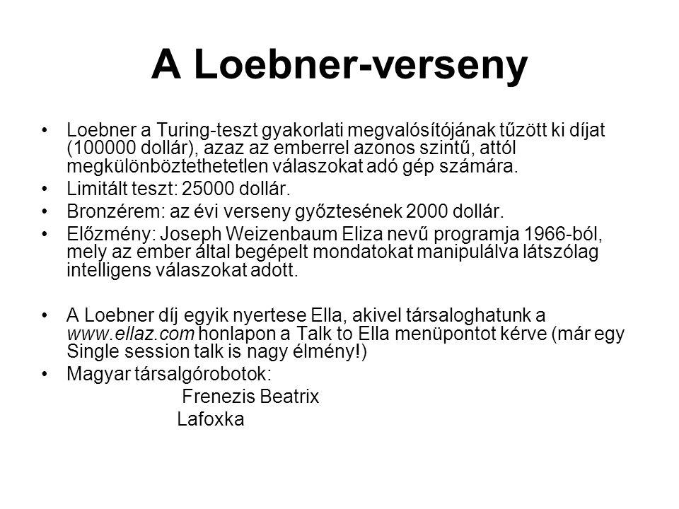 A Loebner-verseny