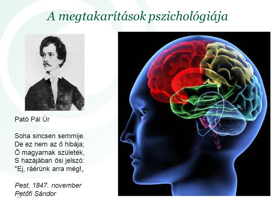 A megtakarítások pszichológiája