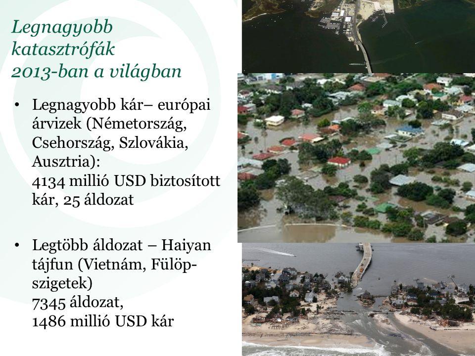 Legnagyobb katasztrófák 2013-ban a világban