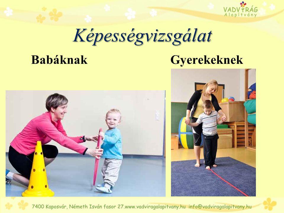 Képességvizsgálat Babáknak Gyerekeknek