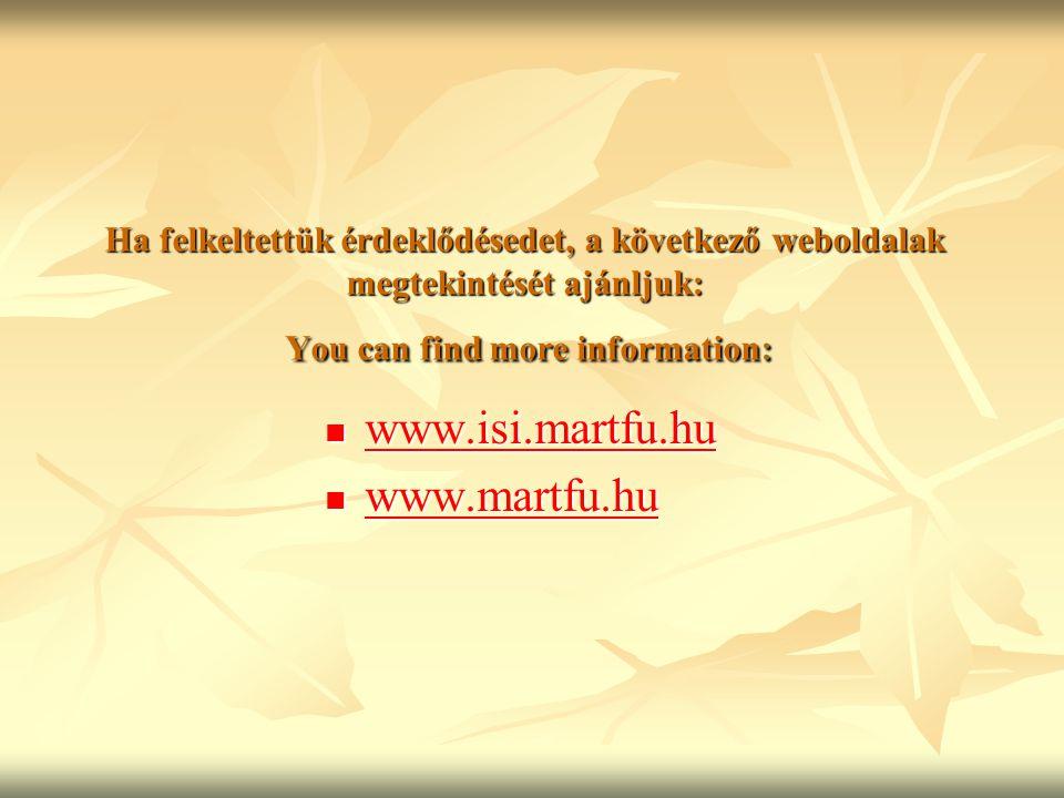 www.isi.martfu.hu www.martfu.hu