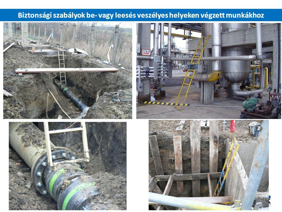 06/04/2017 Biztonsági szabályok be- vagy leesés veszélyes helyeken végzett munkákhoz