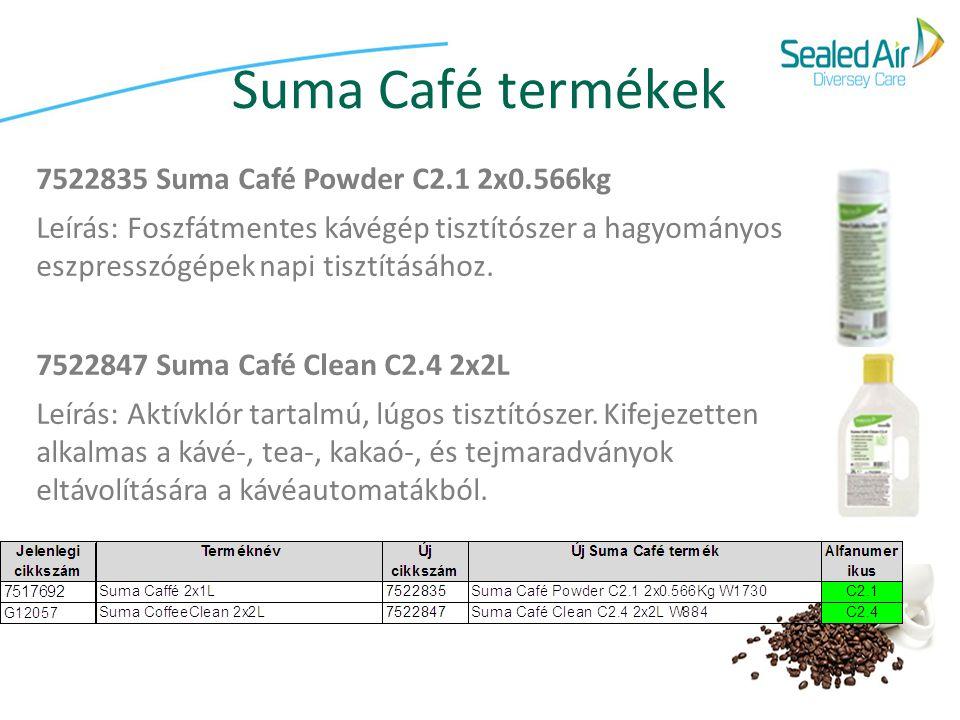 Suma Café termékek 7522835 Suma Café Powder C2.1 2x0.566kg