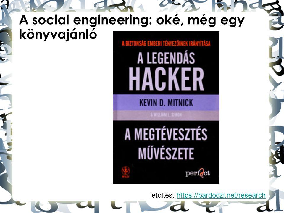 A social engineering: oké, még egy könyvajánló