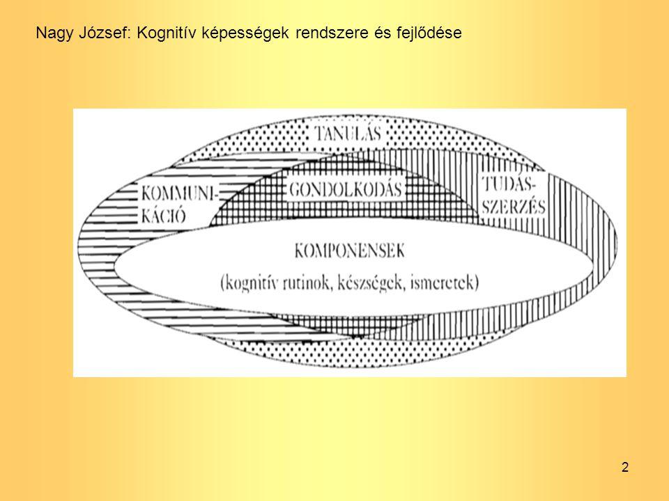 Nagy József: Kognitív képességek rendszere és fejlődése