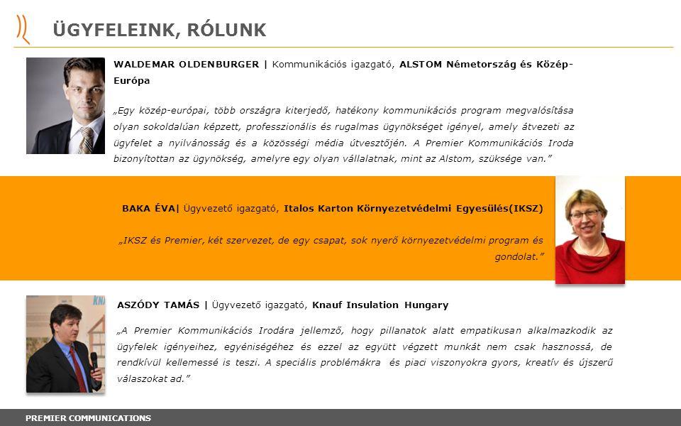 ÜGYFELEINK, RÓLUNK WALDEMAR OLDENBURGER | Kommunikációs igazgató, ALSTOM Németország és Közép- Európa.
