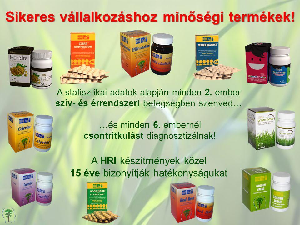 Sikeres vállalkozáshoz minőségi termékek!