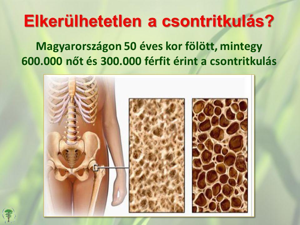 Elkerülhetetlen a csontritkulás