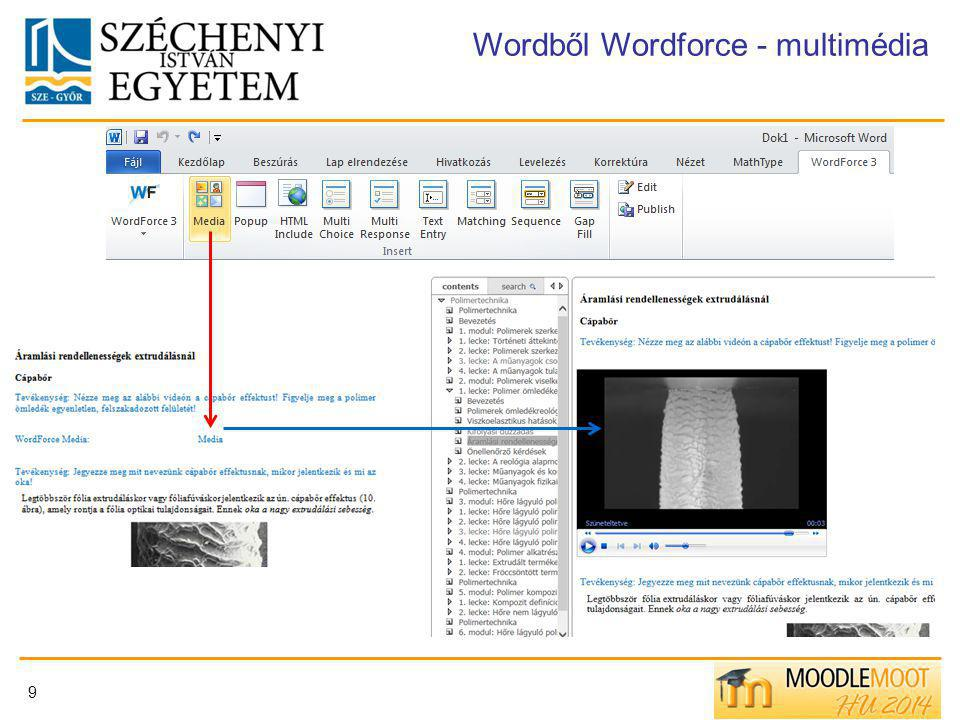 Wordből Wordforce - multimédia