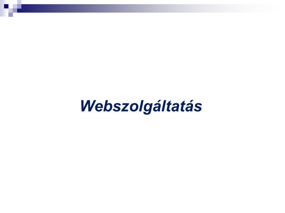 Webszolgáltatás