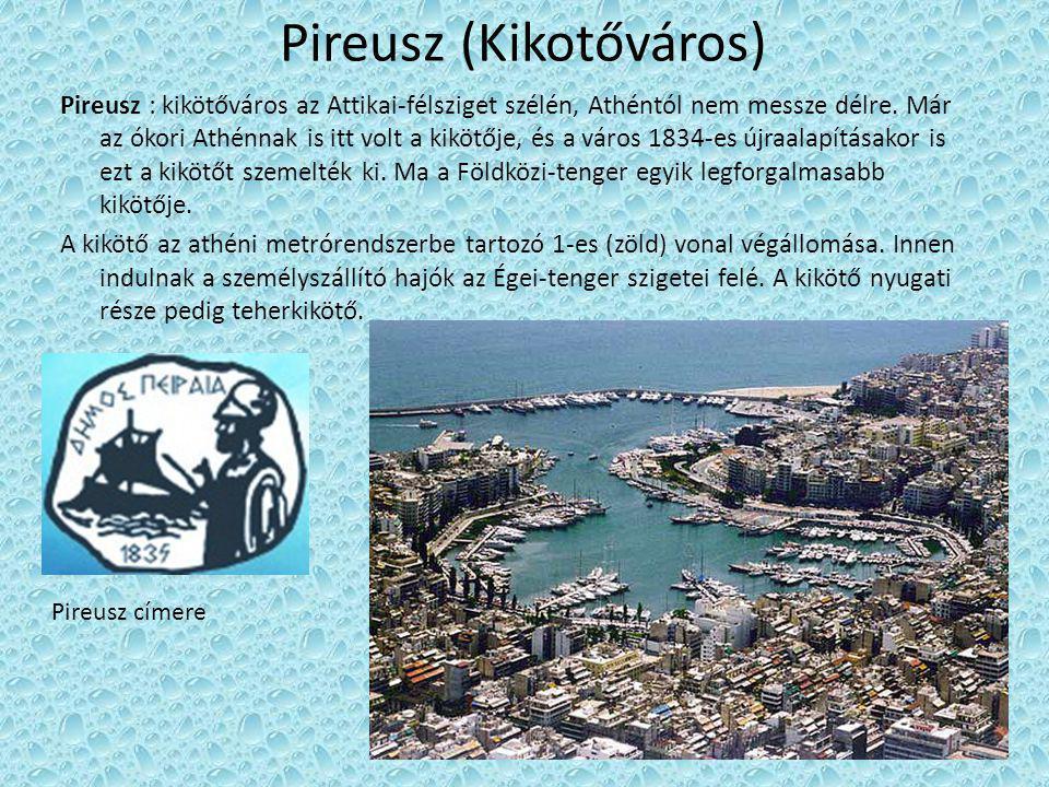 Pireusz (Kikotőváros)