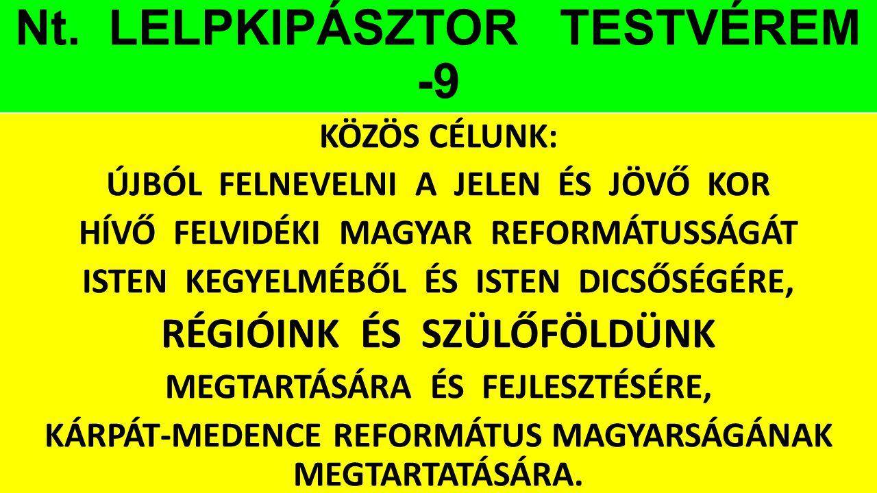 Nt. LELPKIPÁSZTOR TESTVÉREM -9