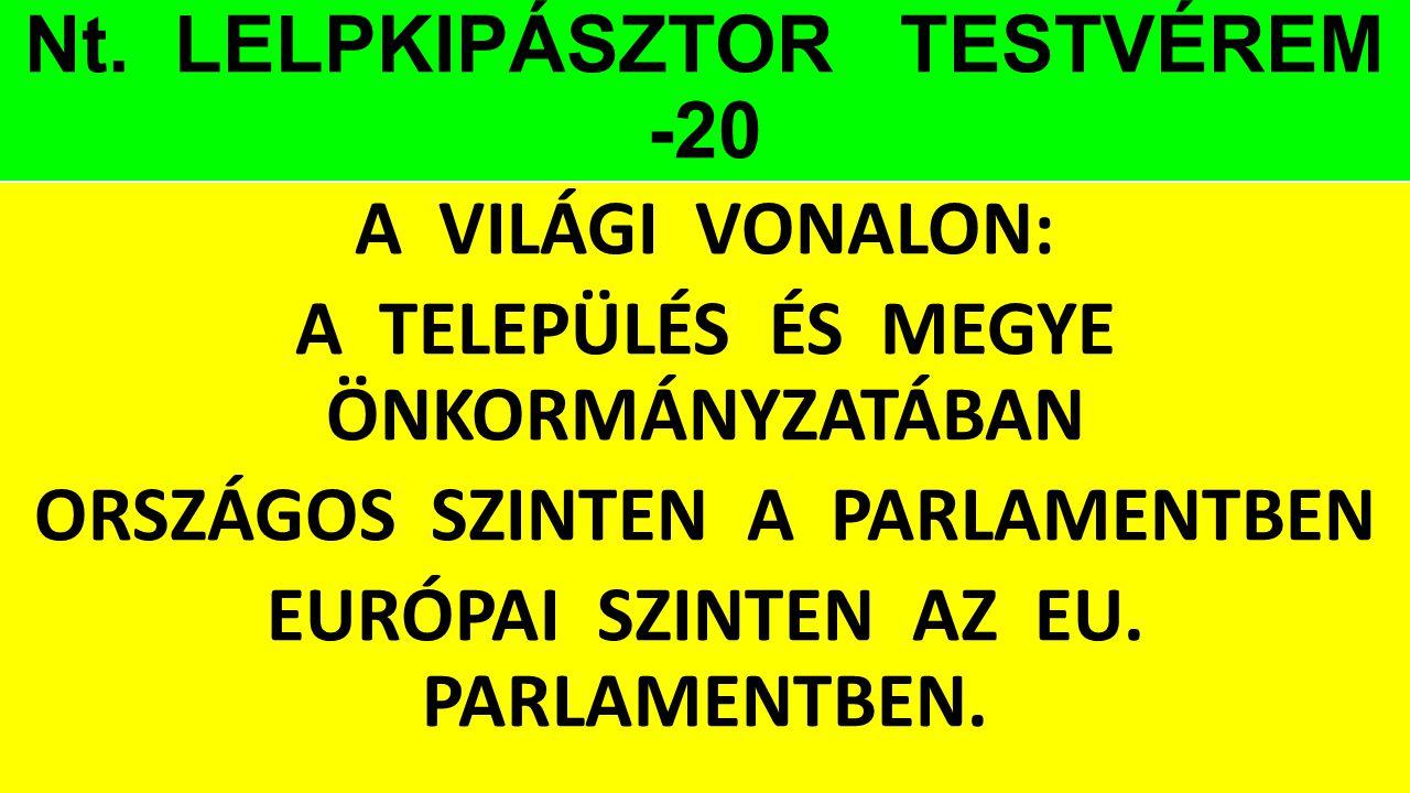Nt. LELPKIPÁSZTOR TESTVÉREM -20