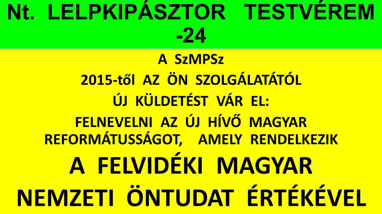 Nt. LELPKIPÁSZTOR TESTVÉREM -24
