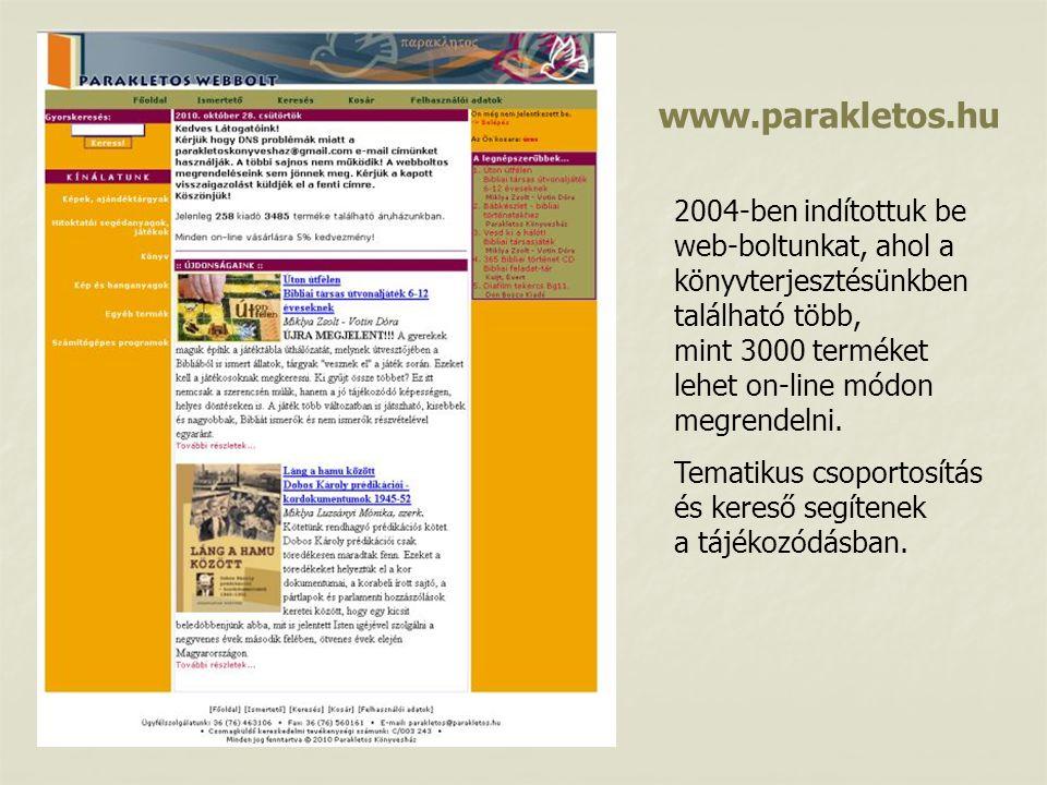 www.parakletos.hu