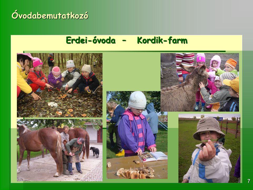 Erdei-óvoda – Kordik-farm