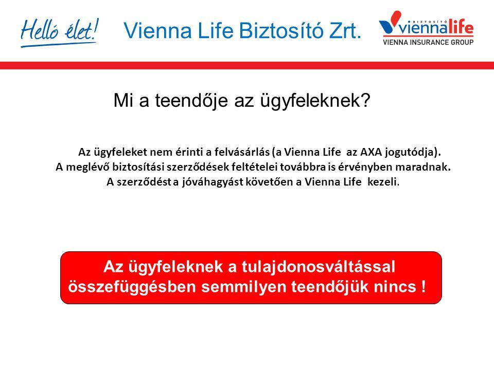 Vienna Life Biztosító Zrt.