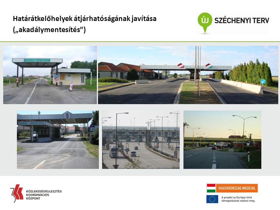 Határátkelőhelyek átjárhatóságának javítása