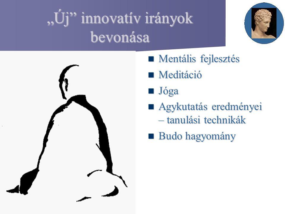 """""""Új innovatív irányok bevonása"""