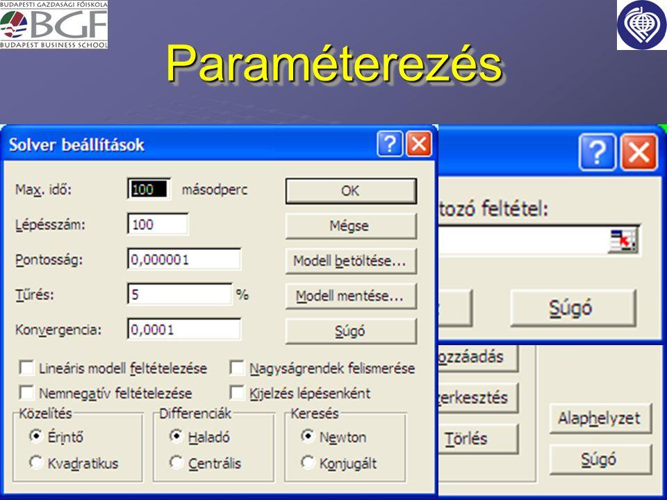 Paraméterezés
