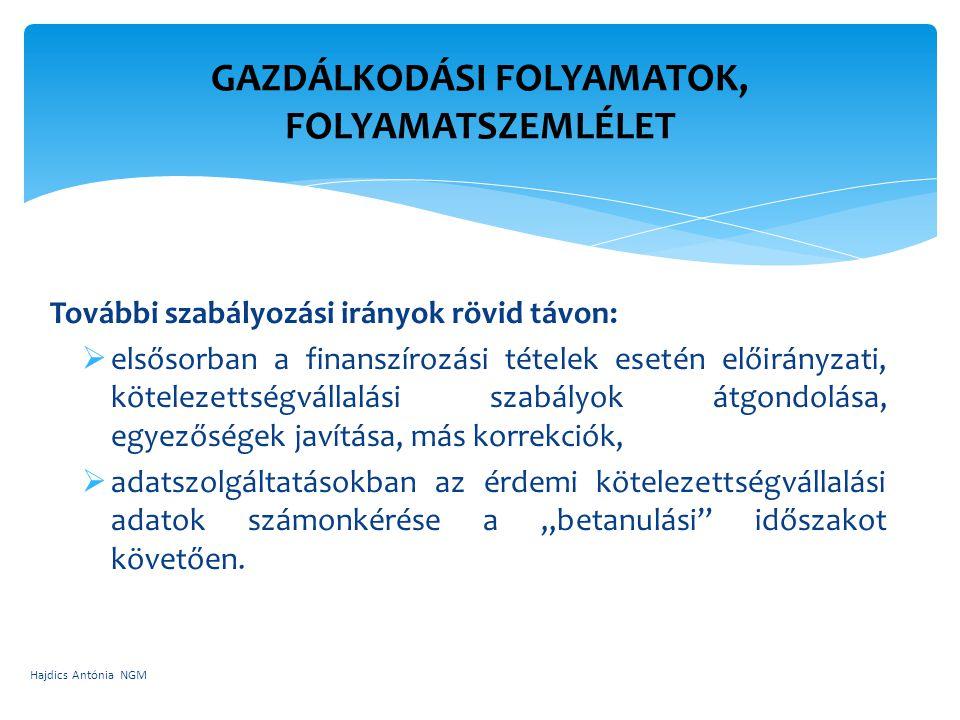 GAZDÁLKODÁSI FOLYAMATOK, FOLYAMATSZEMLÉLET