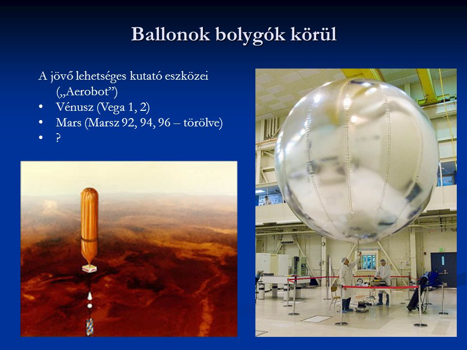 Ballonok bolygók körül