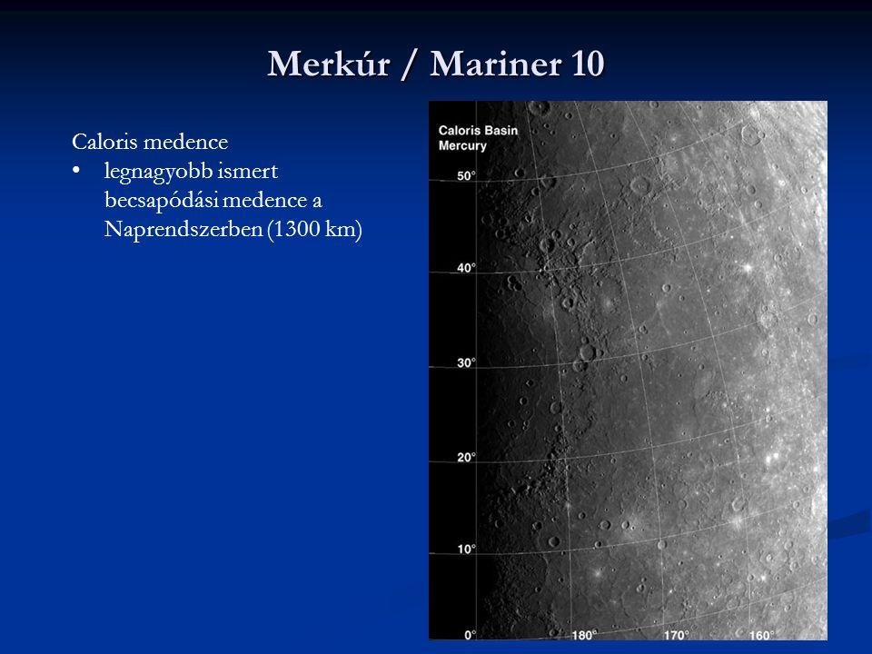 Merkúr / Mariner 10 Caloris medence