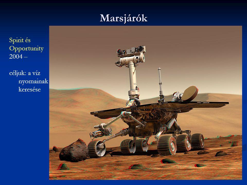 Marsjárók Spirit és Opportunity 2004 –