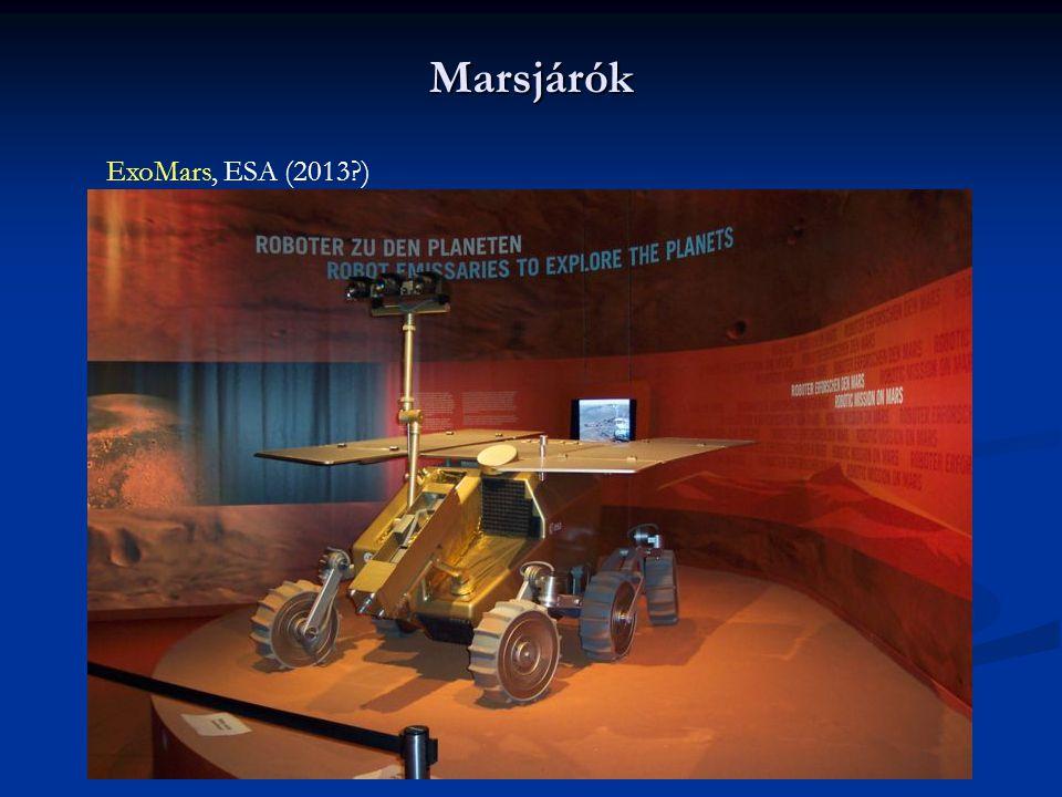 Marsjárók ExoMars, ESA (2013 )