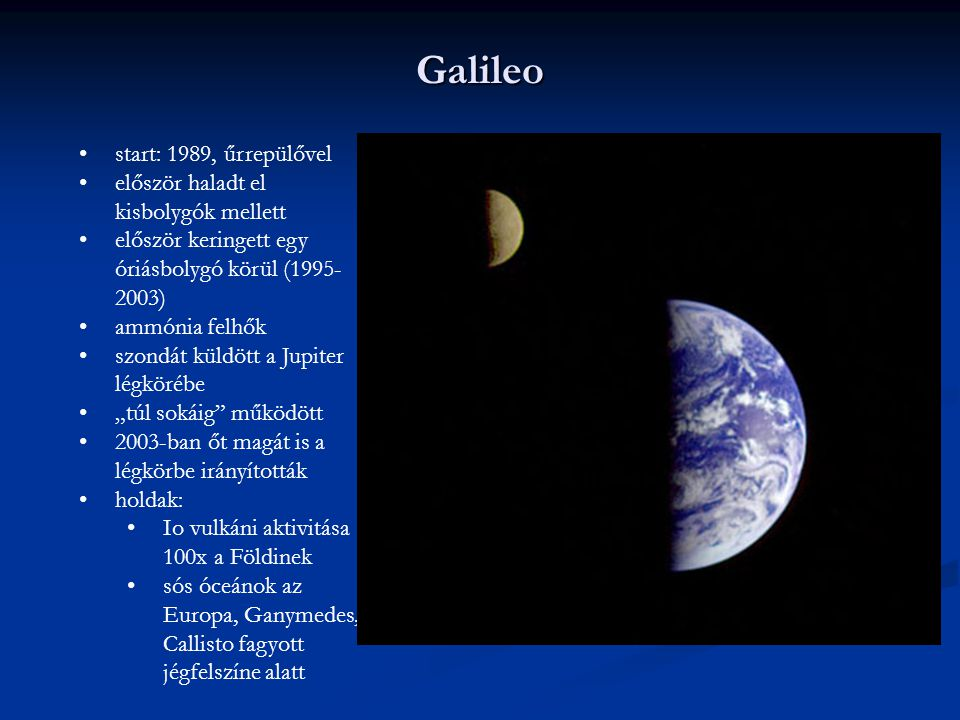 Galileo start: 1989, űrrepülővel először haladt el kisbolygók mellett