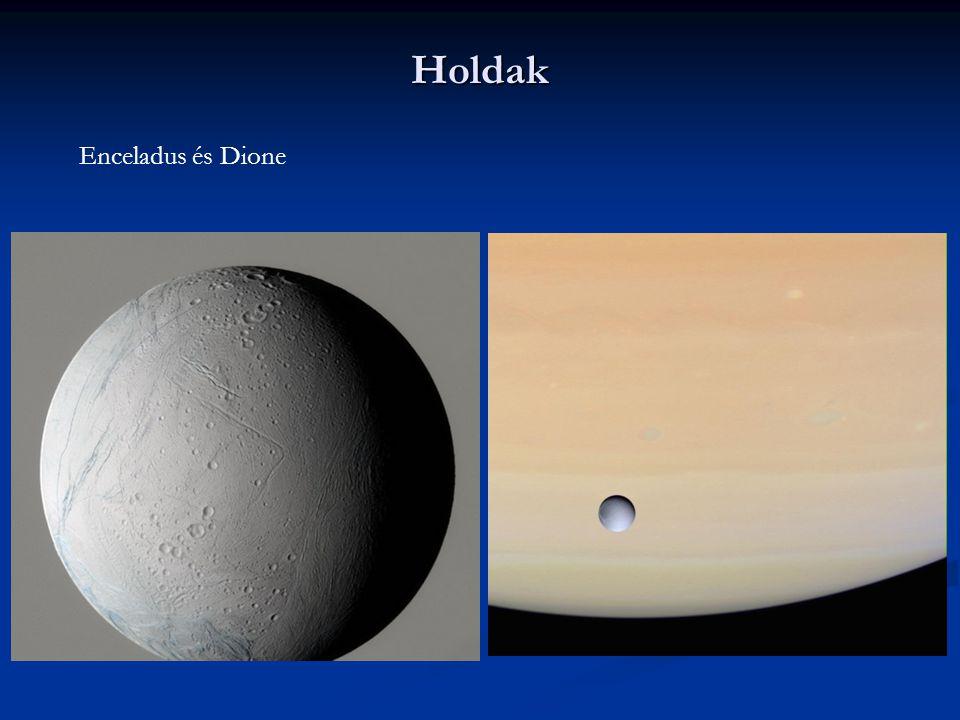 Holdak Enceladus és Dione