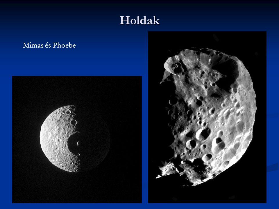 Holdak Mimas és Phoebe
