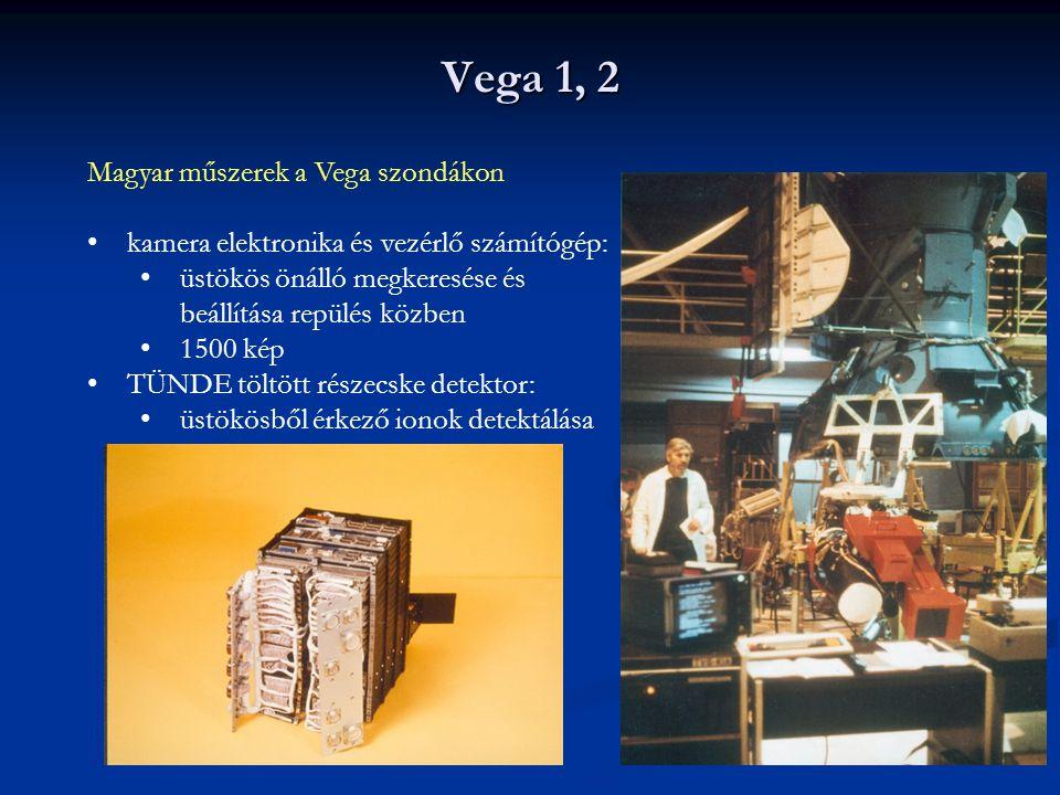 Vega 1, 2 Magyar műszerek a Vega szondákon