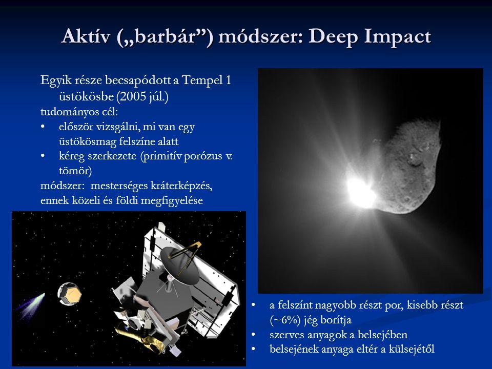 """Aktív (""""barbár ) módszer: Deep Impact"""