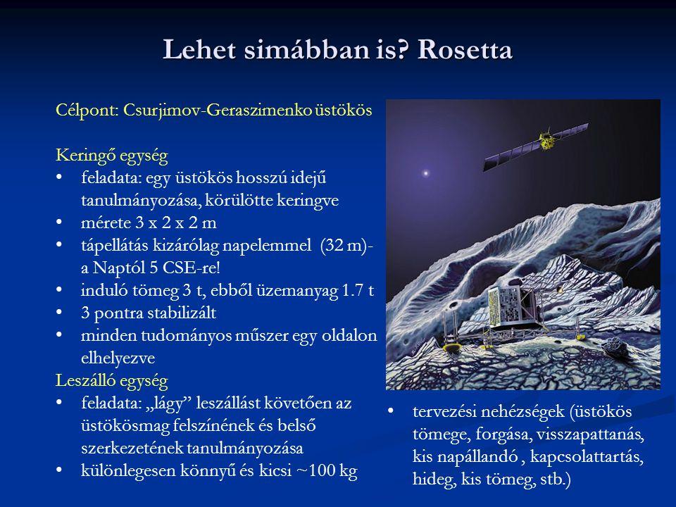 Lehet simábban is Rosetta