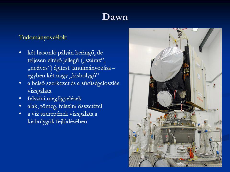 Dawn Tudományos célok: