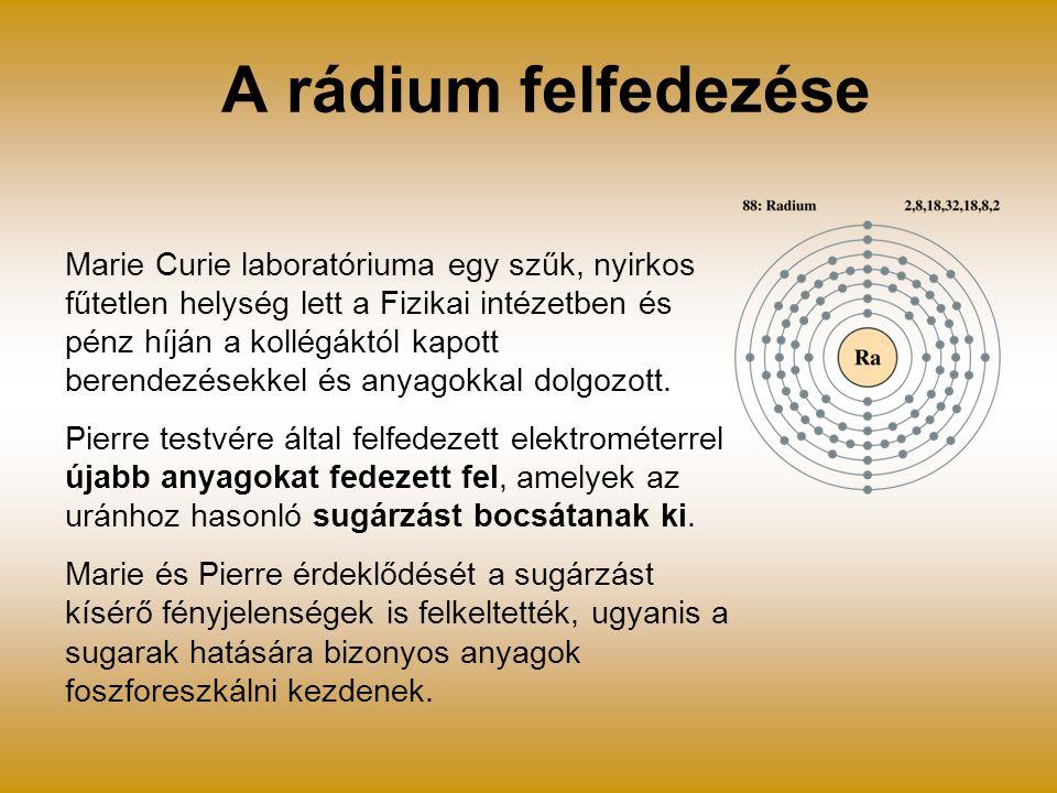 A rádium felfedezése