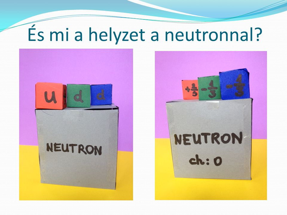 És mi a helyzet a neutronnal