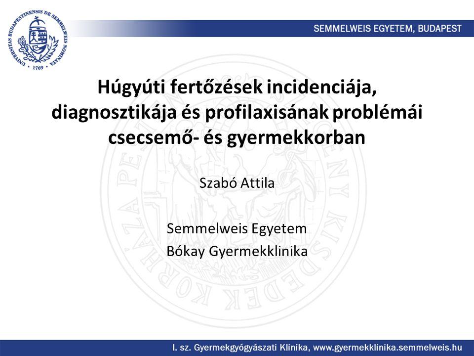 Szabó Attila Semmelweis Egyetem Bókay Gyermekklinika