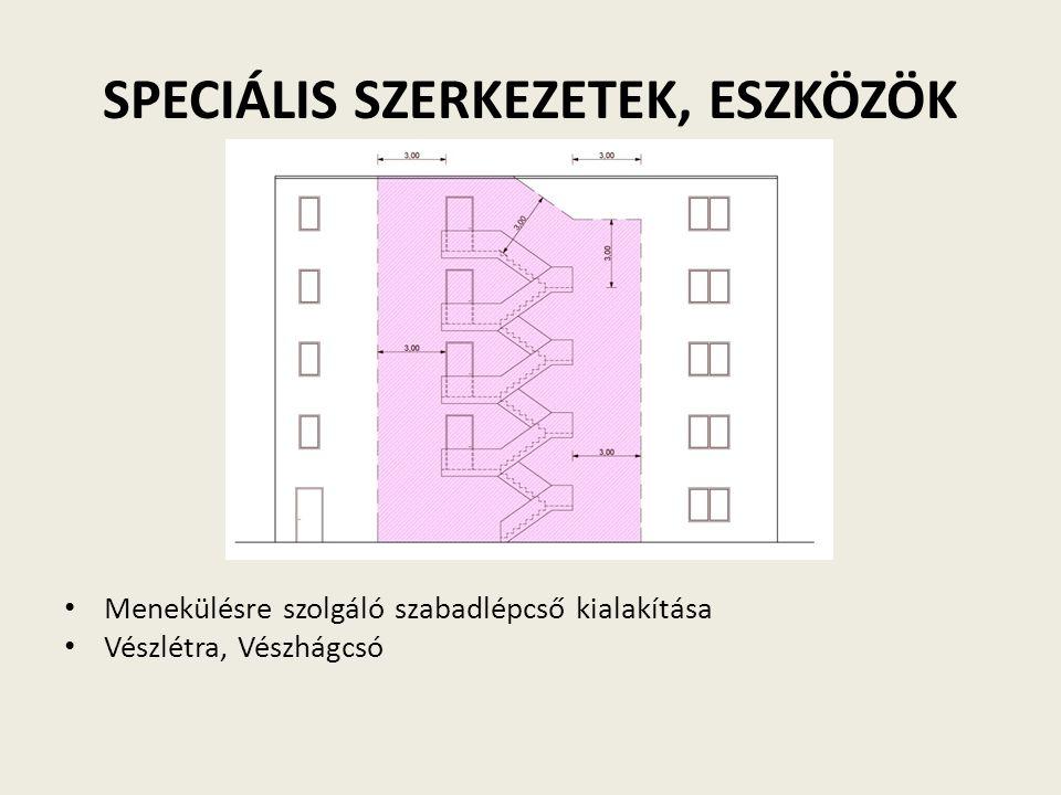 SPECIÁLIS SZERKEZETEK, ESZKÖZÖK