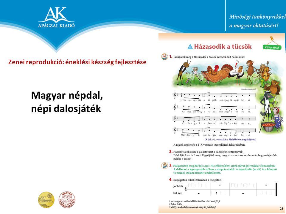 Magyar népdal, népi dalosjáték