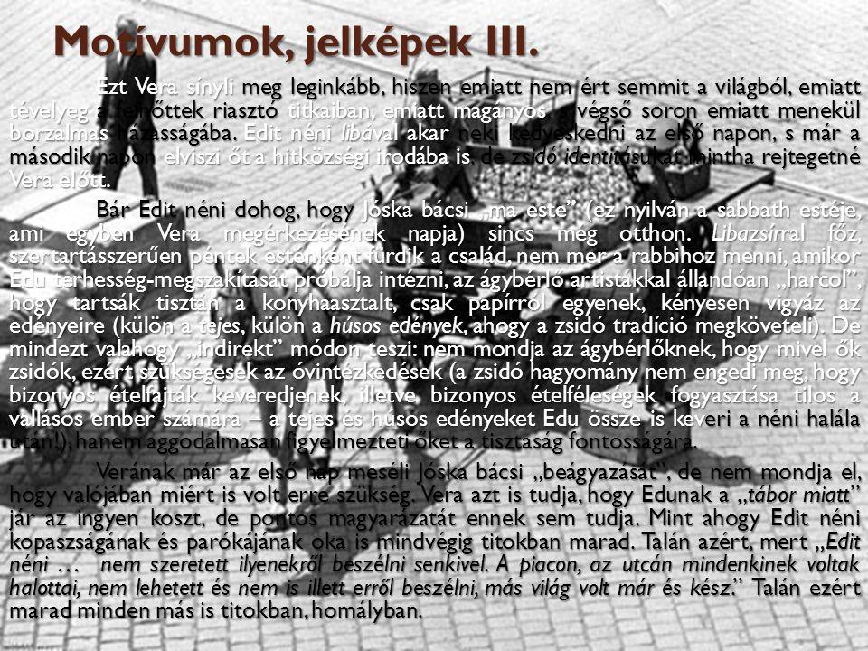 Motívumok, jelképek III.