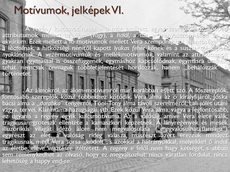 Motívumok, jelképek VI.
