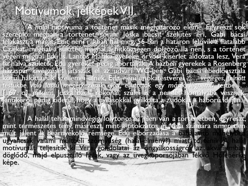 Motívumok, jelképek VII.