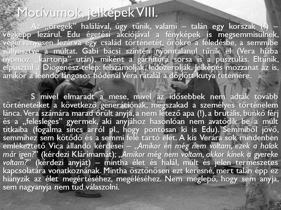 Motívumok, jelképek VIII.