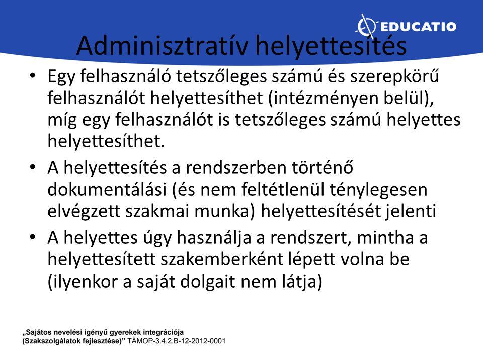 Adminisztratív helyettesítés