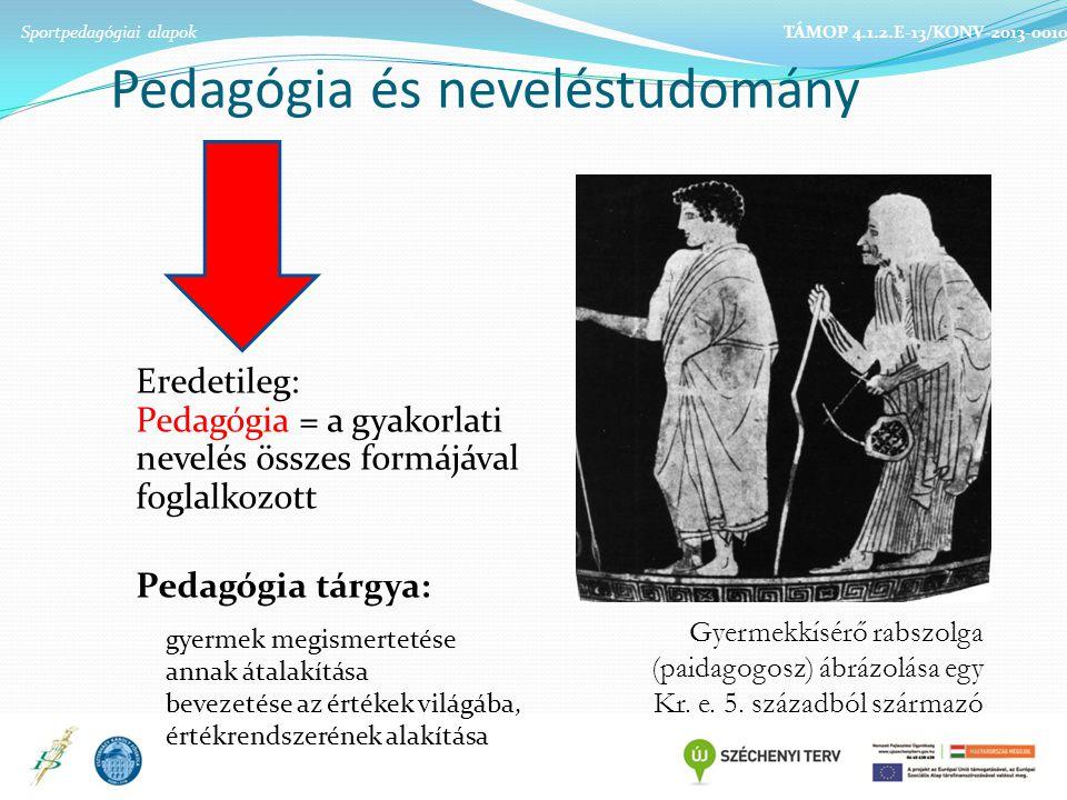 Pedagógia és neveléstudomány